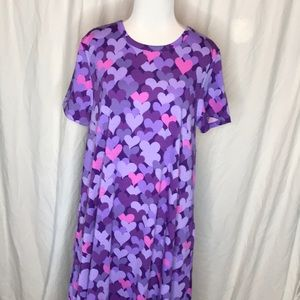 LuLaRoe Jessie Dress hearts